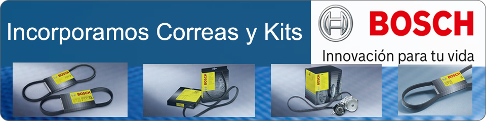 Correas y Kits BOSCH